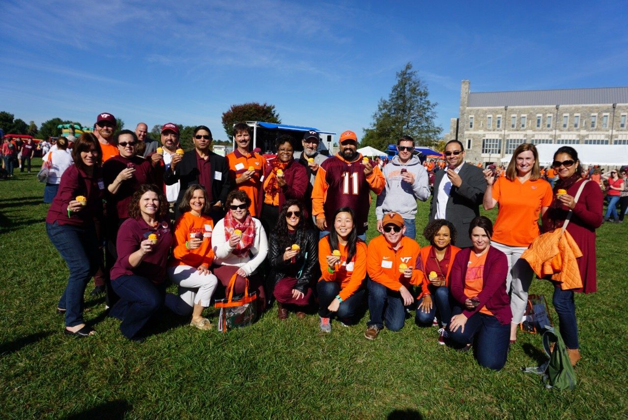 We celebrated 50 years of engineering education at Virginia Tech at the College of Engineering tailgate this past October.
